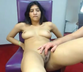 NRI Indian Wife Exposed By Husband at CAM My insane orgasm on my bedroom webcam