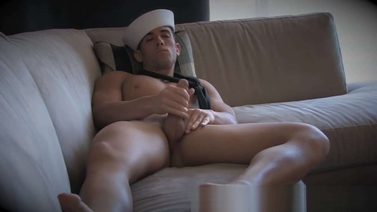 Navy Sailor Kasey Jerking In Uniform My first sex teacher naked