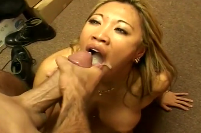Asian Cum Bucket Cum soaked tits porn