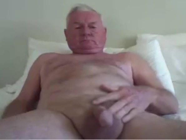 grandpa stroke Softcore black