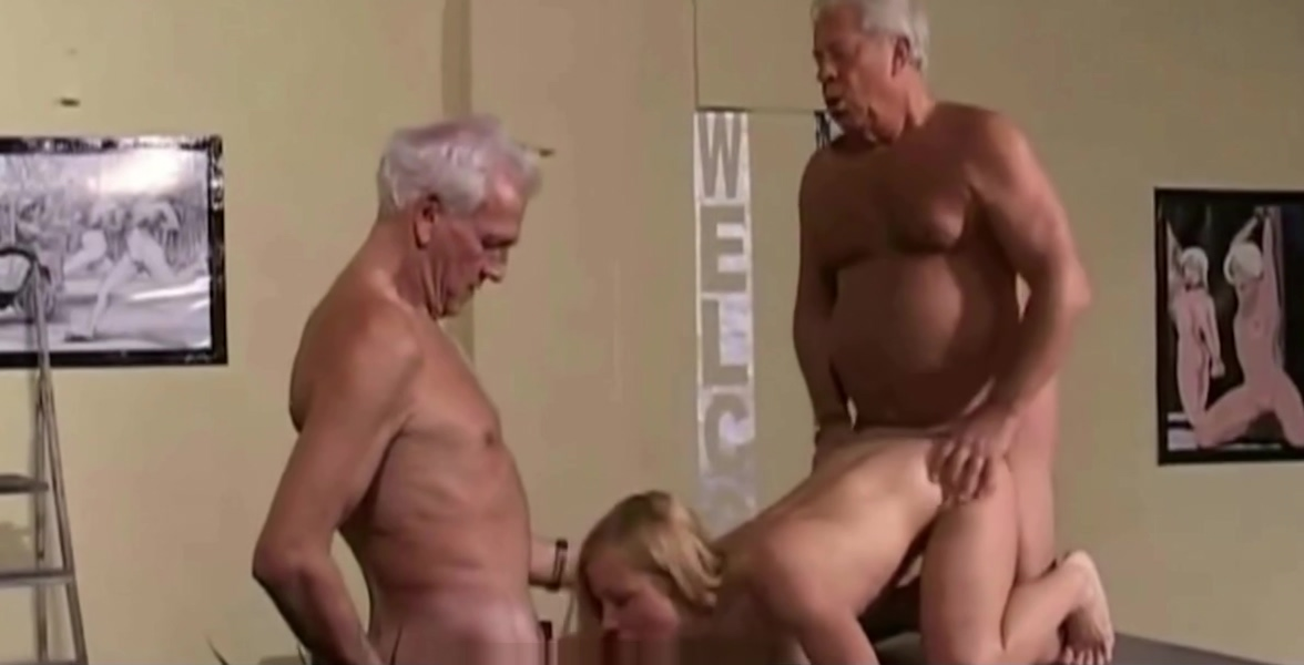 Vintage Old Young - Teenie Girl Fucked white hair grandpas sex scandal home videos