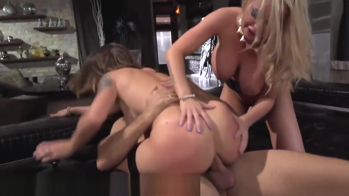 Rocco Siffredi DPs Horny Ass with Busty MILF Body shots sex scene video