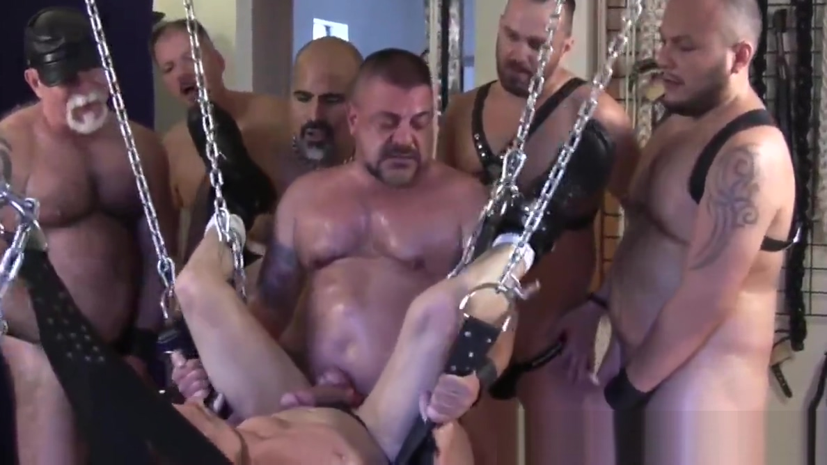 Hoisted bear barebacked in gangbang by guys hot naked norwegian girls in sex videos