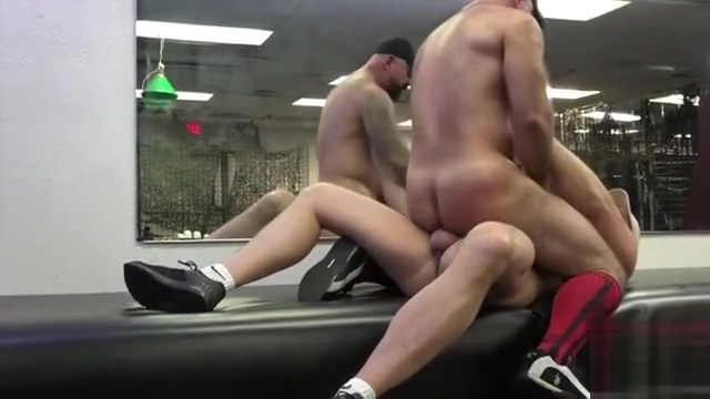 Tyler Reed & Victor West spank the monkey how