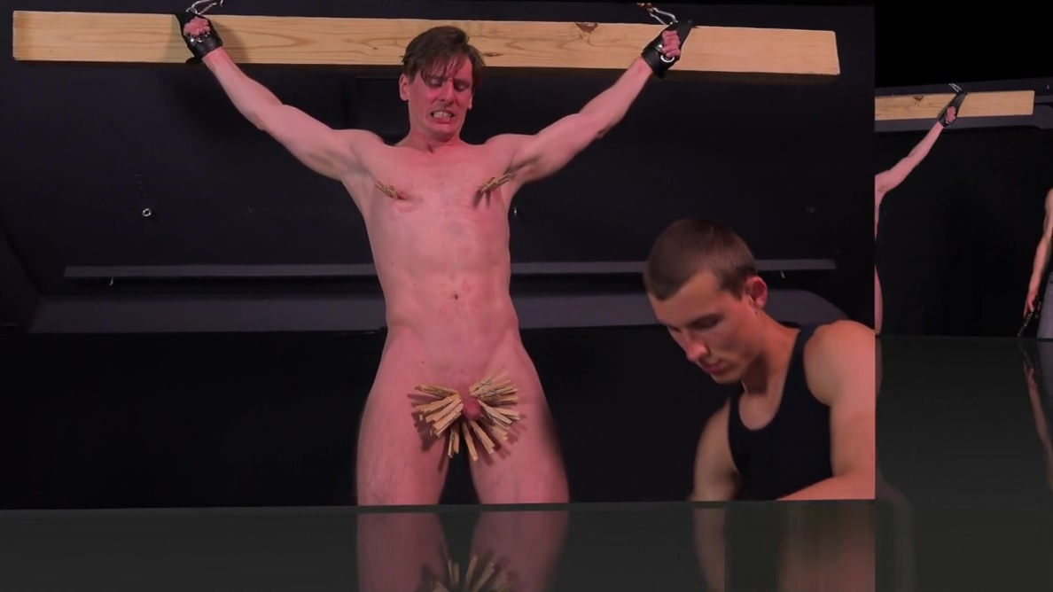 BDSM Gay Bondage DreamBoy Dirk Wakefield Electrocution Whip Hidden cam threesome sex videos
