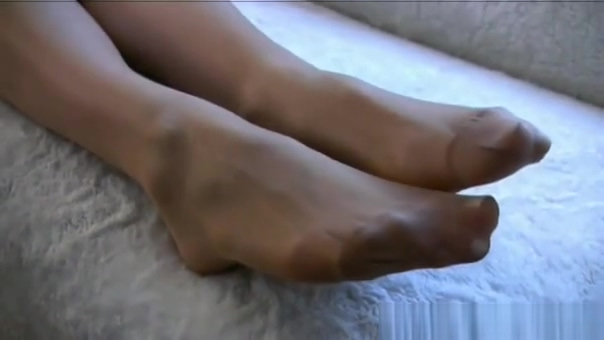 Sexy Nylon Foot Tease Lisa and marge porn simpson jessica