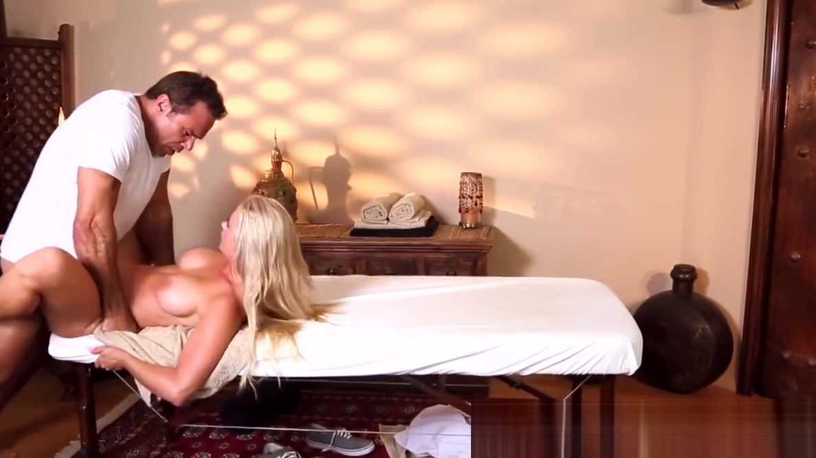 Busty massage babe fucked on table small egypts pussy pic