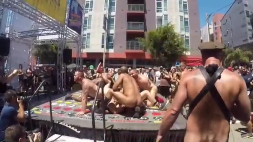 Dore Alley Naked Twister 2017 Super hot bbw milf