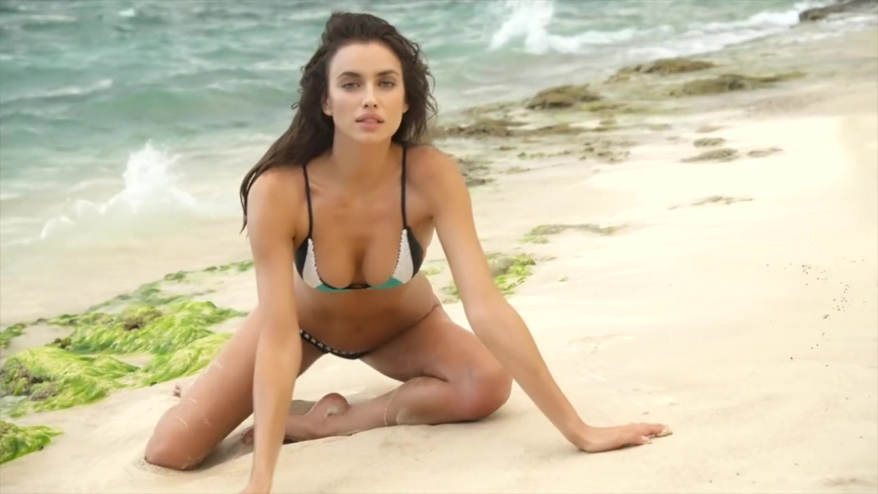 Irina Shayk Wet Panties