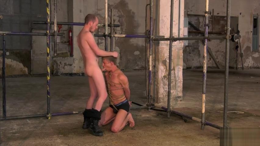 Bound & Made To Suck It - Chris Jansen & Sean Taylor hot naked black haired girls having sex