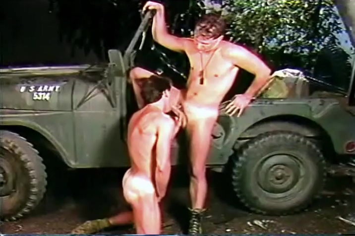 Foxhole (1990) Girl doing sex cloth with boy photo