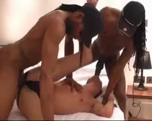 Endowed black gay man is fucking a twink Belly expansion 3d porn