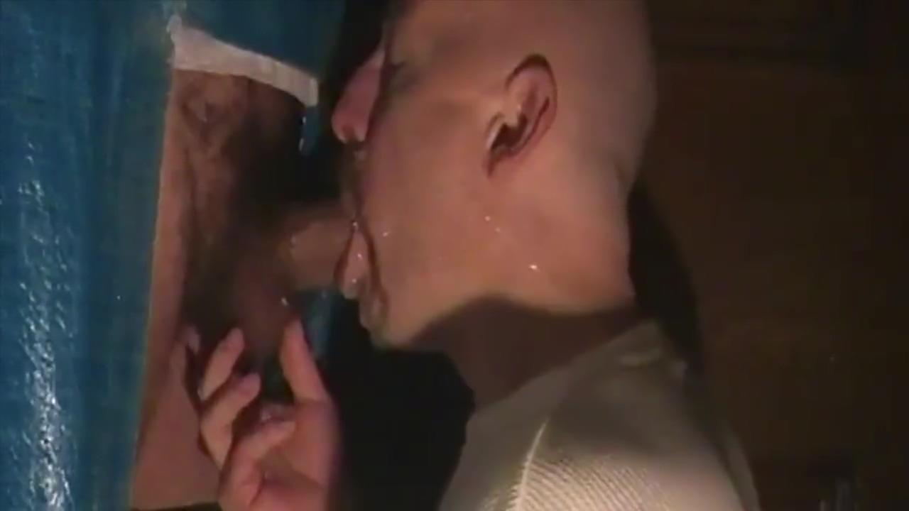 Making Men Squirt - Addicted To Sucking Cum V4 Ebony bbw breaks in new guy