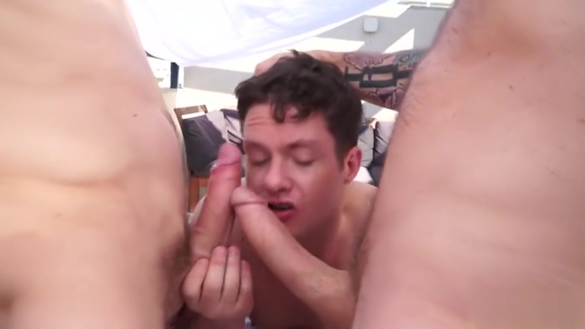 Big dick gay threesome with facial Highly compressed file