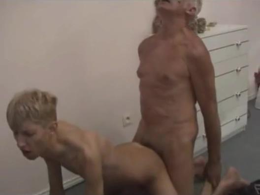 Grandad Barebacks His Skinny Grandson Tits mature pantyhose milf