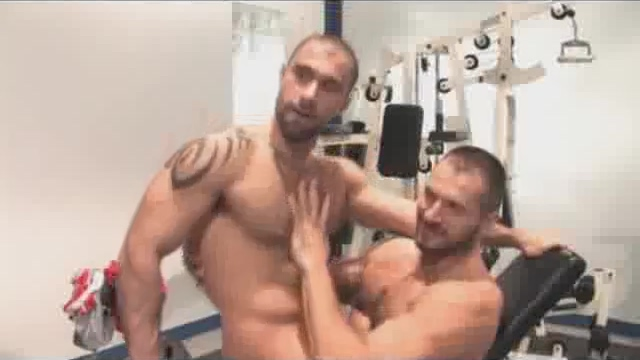 Arpad Miklos & Alex Corsi in the gym ben sex free tubes look excite and delight ben sex