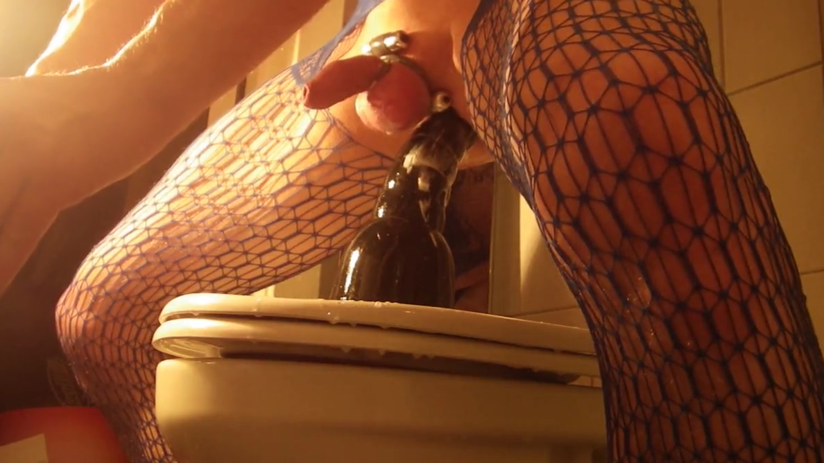 Crossdresser with a Lovely Kinky sloppy extreme dildo show xxx mature movie clips