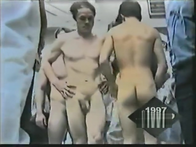 Vintage Wrestlers Weigh-in sex games group on