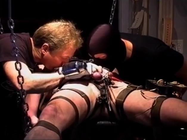 Gay - shotgun master estim in dungeon Teen showing off boobs