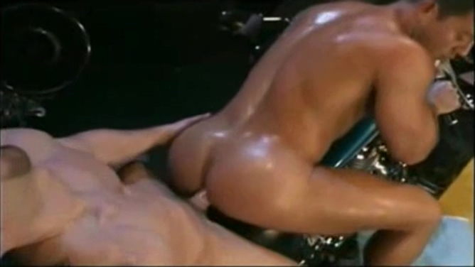 Shane Rollins And Carlos Morales girl gets pounded by huge cock