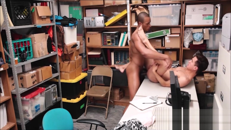 Young Straight Twink Shoplifter Caught Stealing Clothes Fucked By Gay Black Mall Cop girl swallows deep throat cum