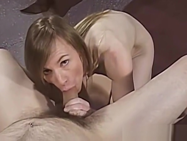 Skinny milf strips nude then sucks a big hard cock Www harsextube com