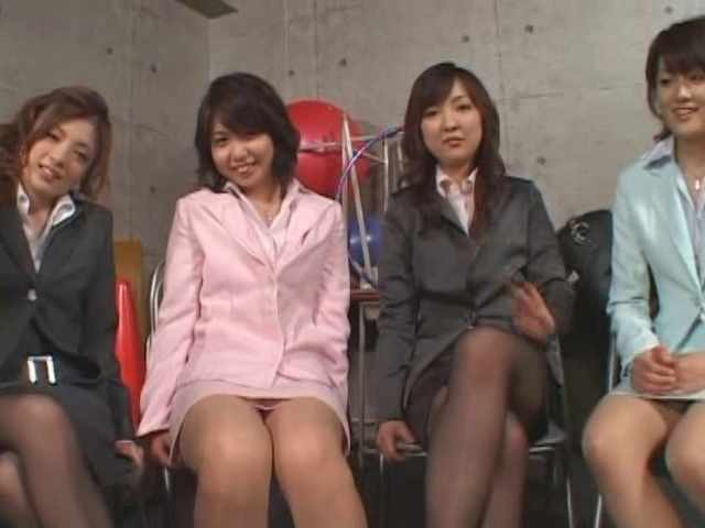 5 Japanese gals give footjob Wild lesbian chicks have gone wild