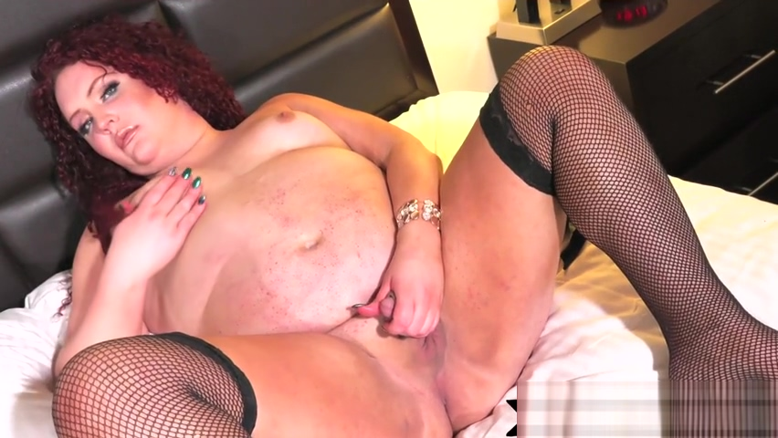 SSBBW shemale jerking her dick in stockings Hot milf fuck vids