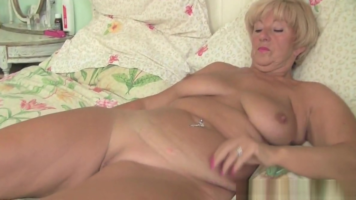 English granny Elle forces her fingers into her old cunt real free janet jackson porn movies