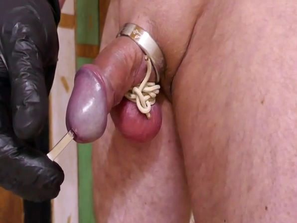 With bound foreskin, dilator, jerk off Ass sexy lick anal pics