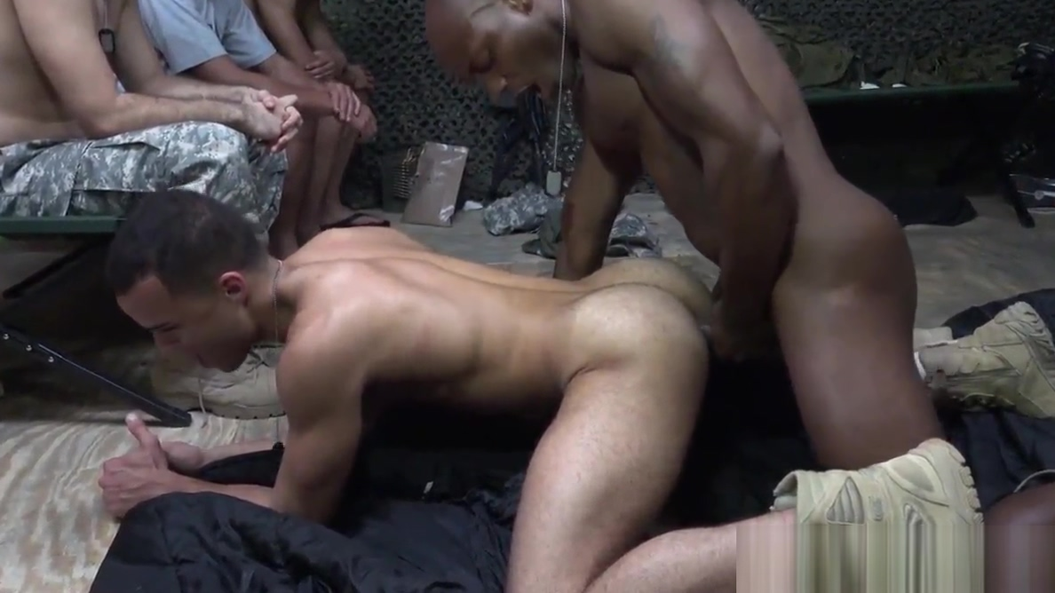 Tattooed soldier strips and gets pounded Shay Laren Having Sex