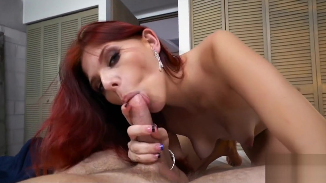 Kinky Redhead GF Bound sub strapon fucked