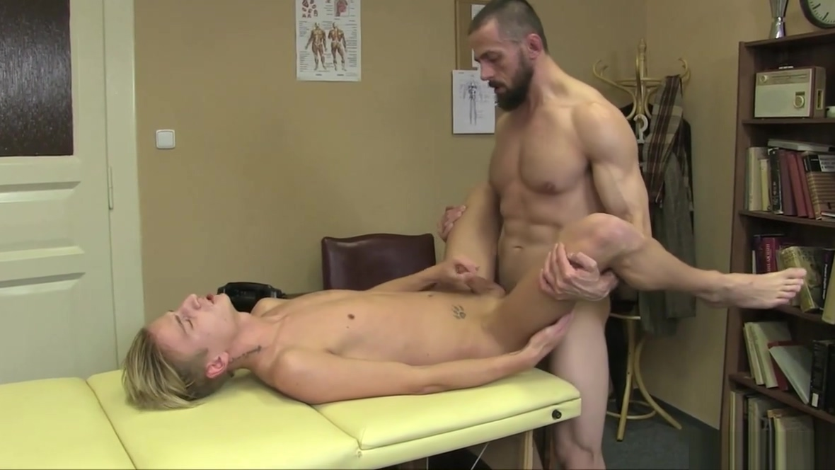 Young Twink Gives A Sensual Massage Bonafide buck hustler babe milf