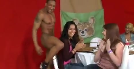 Cougars suck off a strippers BBC