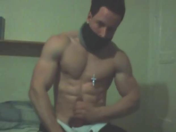Masked Muscle Hunk (Flexs, JO & Cum ) Black Gay Ass Pictures