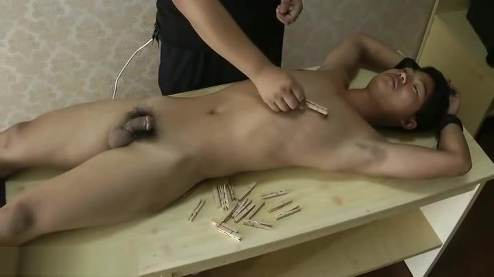 Muscle Slave Boy BDSM latex condoms coconut oil