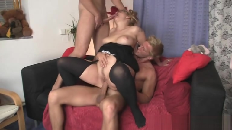 Two dudes pound old bitch Amazon position hd