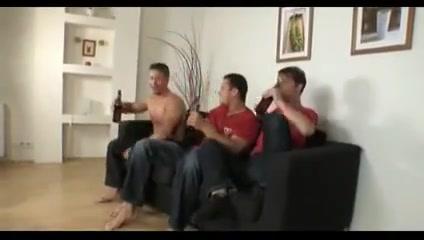 Three gay hunks got bored, so they had sex glory hole girls fucking