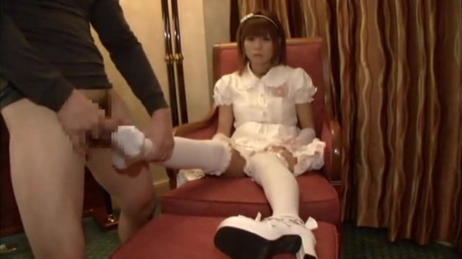 Emotionless Japanese Lolita Fashion Handjob and Footjob sex toys and products