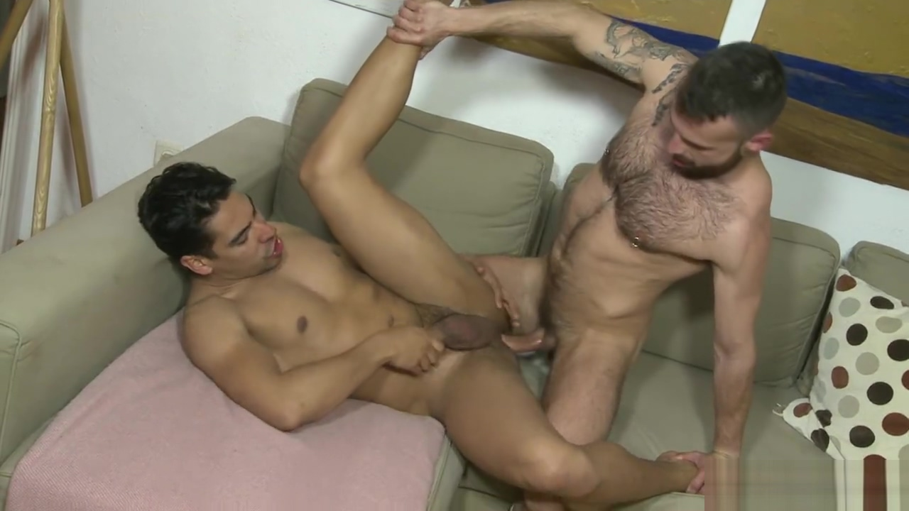 Salvador and Manuel raw flip fuck Busty lesbo tongue fucked