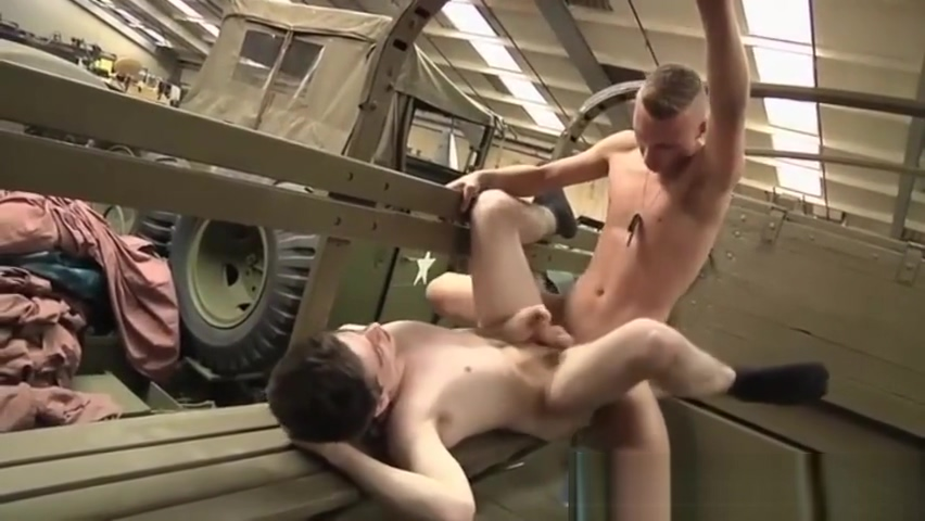 Two army guys fuck rough xxx-boy and girl room