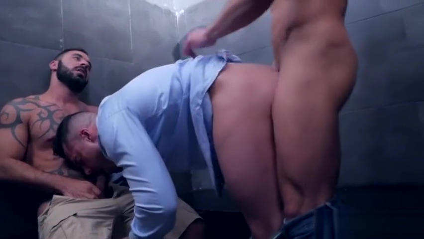 Muscle gay threesome and cumshot simply nude double decker compact
