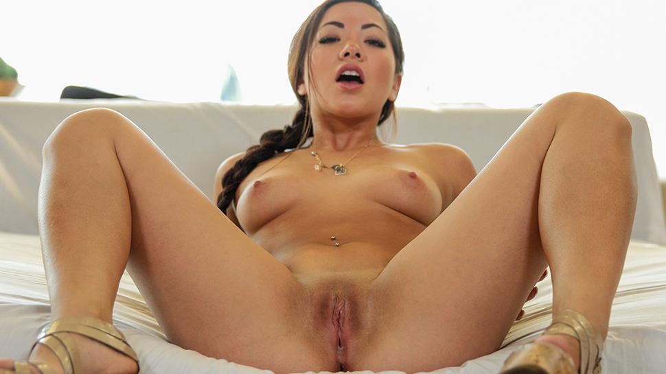 Morgan Lee in Slender Asian Snatch - PornPros Video xxx hens night blowjobs