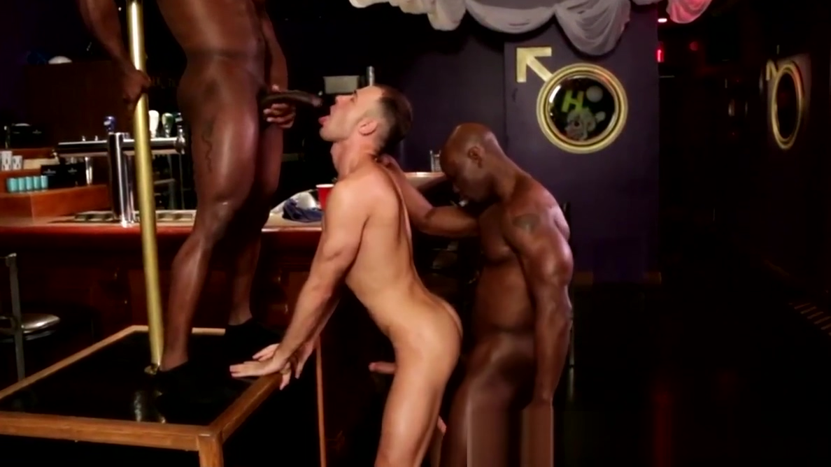 Interracial anal threeway with ripped ebonys House wife turns lesbian