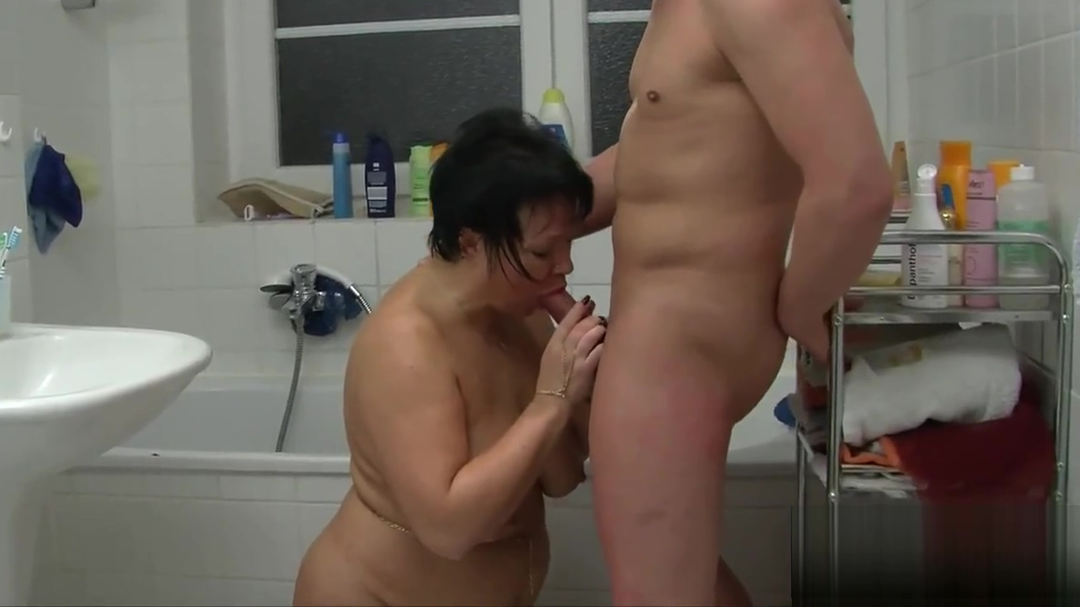 Fat german milf gets nailed in bathroom Lingerie Girls Masturbating