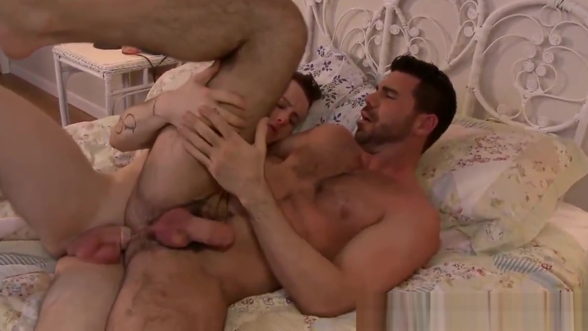 Horny Billy gets hammered with Colton cock in the bedroom Jhonny test fucks lila