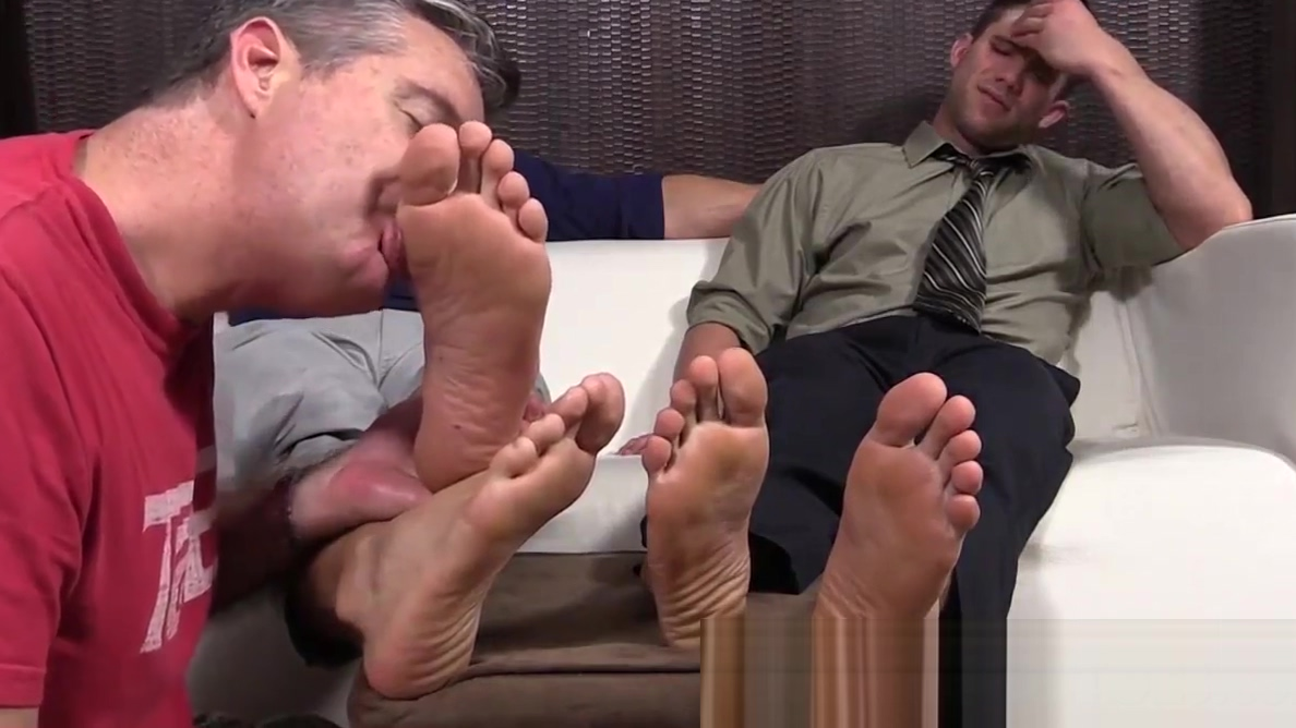 Hot studs Cole and Kenny love to have their feet worshipped Rucca Page Top Heavy Tarts Scene 2