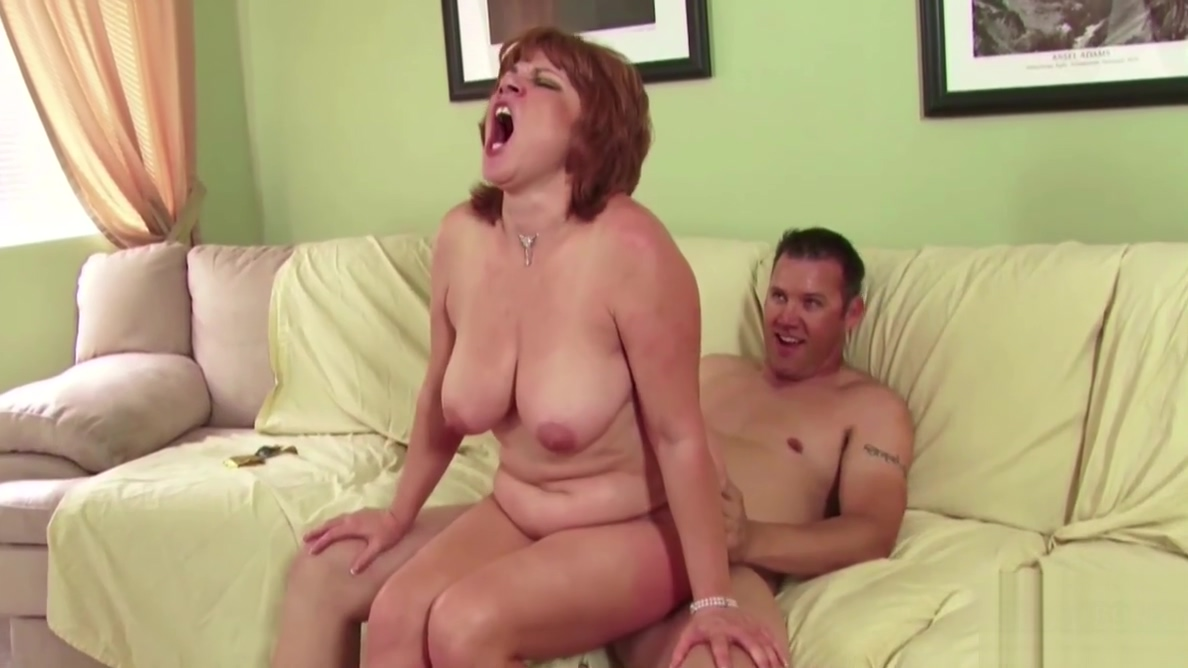 MILF not mother Seduce Young Boy to Fuck When Husband away
