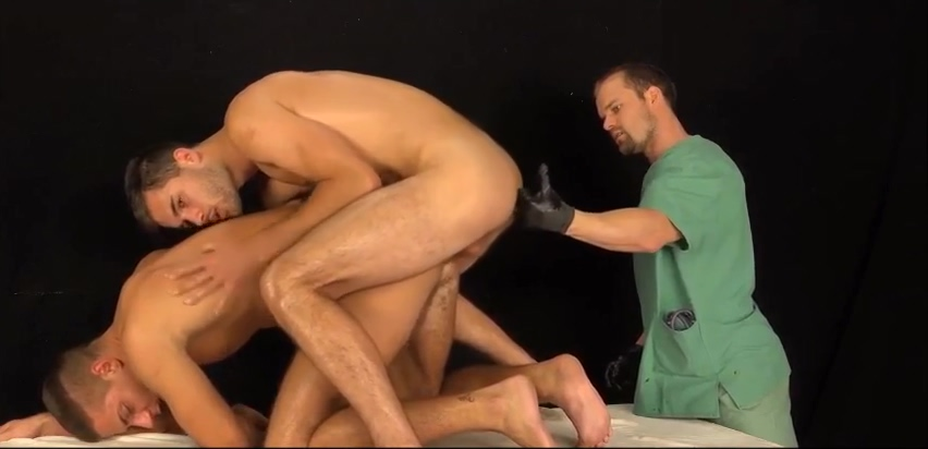 Just another 3-way medical exam sons gives mother monster cock