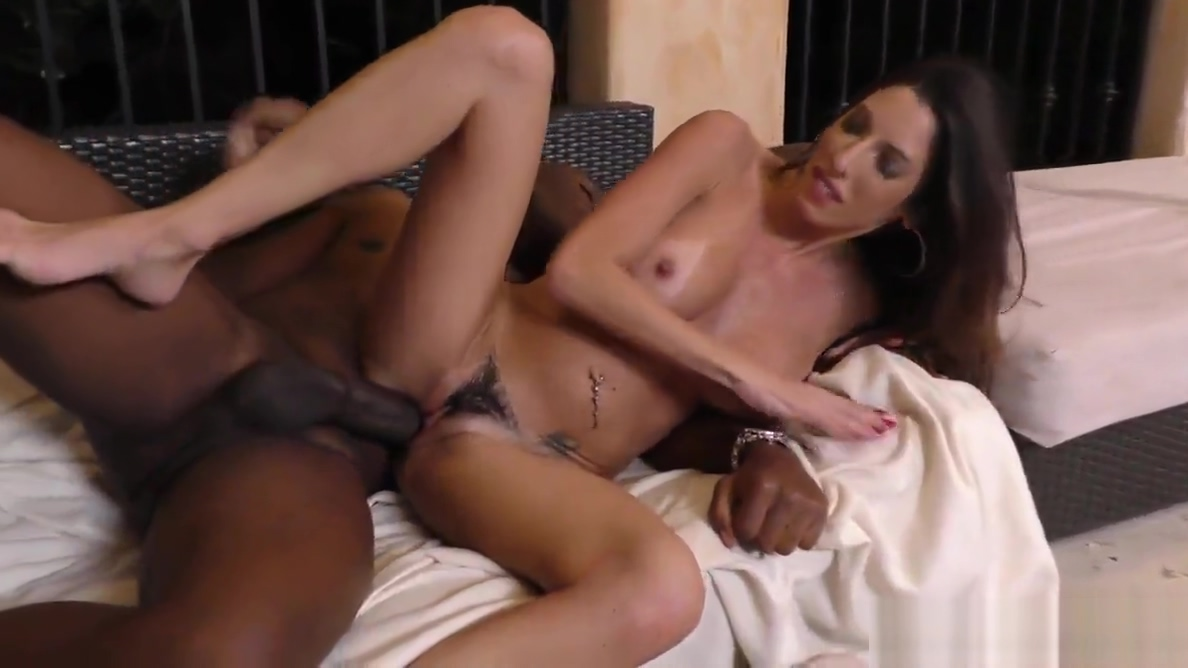 Sexy Dava Foxx suck and fuck big black cock pampered chef rubber stamps